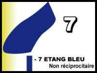 Etang bleu