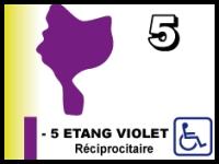 Etang violet 1